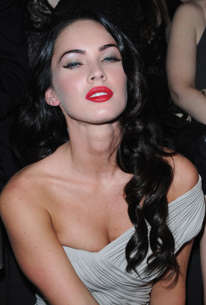 Megan Fox Actress Megan Fox attends the Giorgio Armani Haute Couture A/W
