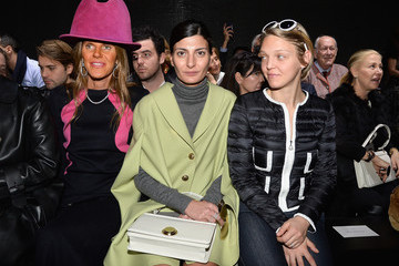 Giovanna Battaglia Front Row at the Moncler Gamme Rouge Show