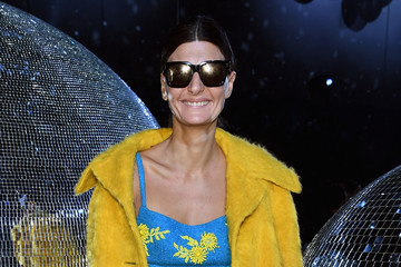 Giovanna Battaglia Moncler Gamme Rouge  : Front Row - Paris Fashion Week Womenswear Spring/Summer 2018