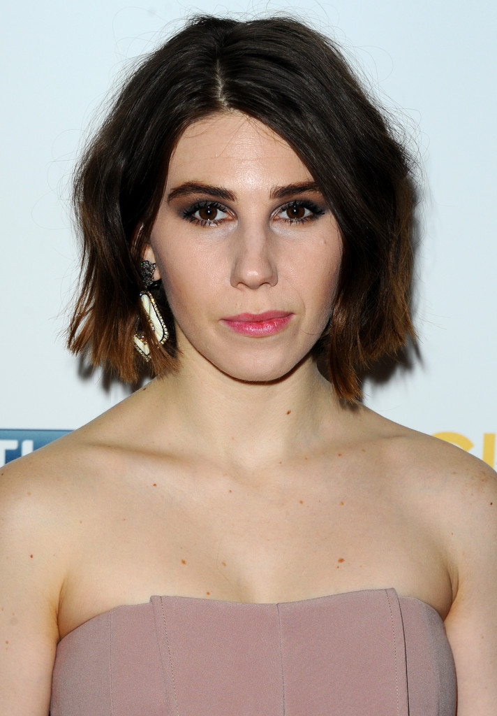 "Zosia Mamet attends the UK premiere of ""Girls: Season 3"" at Cineworld Haymarket on January 15, 2014 in London, England."
