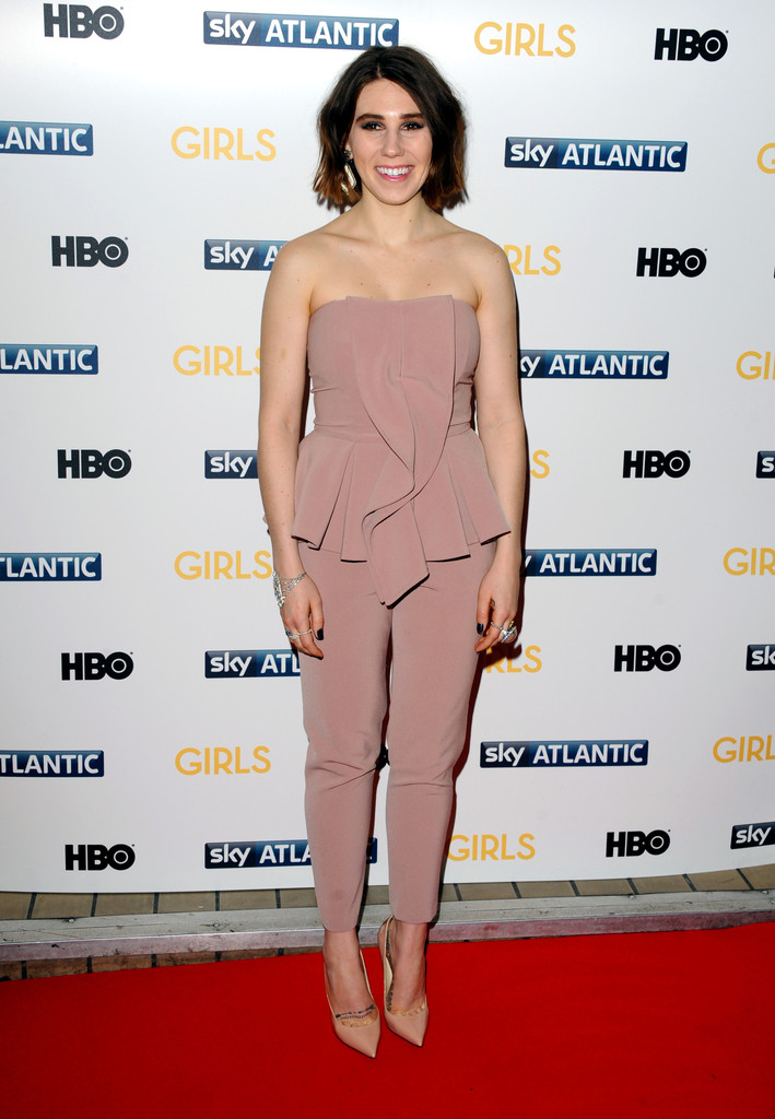 Zosia Mamet attends the UK premiere of 'Girls' Season 3 at Cineworld Haymarket on January 15, 2014 in London, England.