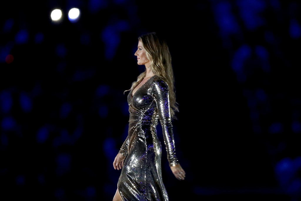 Gisele Bundchen - The Opening Ceremony of Rio 2016 Olympic Games