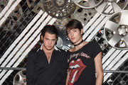 Peter Brant and Harry Brant Photos Photo