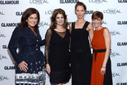 (L-R) Vice president and publisher at Glamour Connie Anne Phillips, L'Oreal Paris President Karen Fondu, model Christy Turlington Burns, and Glamour Editor-in-Chief Cindi Leive attend Glamour's 23rd annual Women of the Year awards on November 11, 2013 in New York City.
