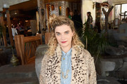 Actress Megan Ferguson attends Glamour's Women Rewriting Hollywood Lunch at Sundance Hosted By Lena Dunham, Jenni Konner and Cindi Leive on January 26, 2016 in Park City, Utah.