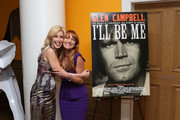 """Kim Campbell and Jane Seymour attend the """"Glen Campbell...I'll Be Me"""" New York Premiere at Crosby Street Hotel on October 22, 2014 in New York City."""