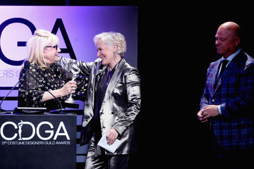 Glenn Close 21st CDGA (Costume Designers Guild Awards) - Show And Audience