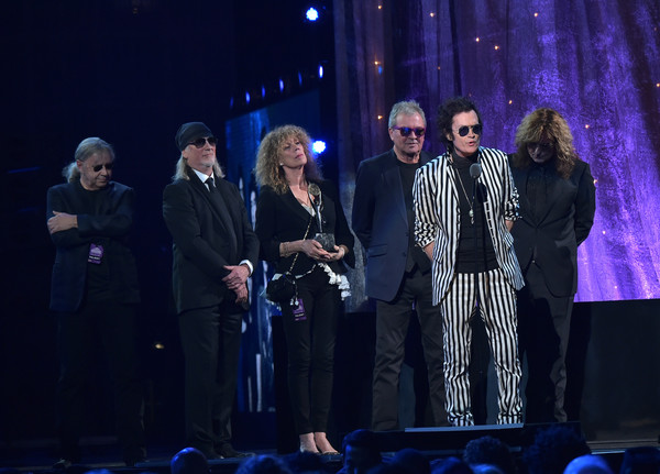 31st Annual Rock and Roll Hall of Fame Induction Ceremony - Show [performance,entertainment,event,performing arts,stage,music,concert,singing,music artist,performance art,glenn hughes,stage,barclays center,new york city,rock and roll hall of fame induction ceremony,deep purple,rock and roll hall of fame induction ceremony - show]