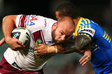 Glenn Stewart NRL Rd 21 - Eels v Sea Eagles