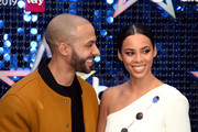 Marvin Humes and Rochelle Humes attendsThe Global Awards 2019 at Eventim Apollo, Hammersmith on March 07, 2019 in London, England.