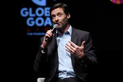 Hugh Jackman speaks onstage during Global Citizen Presents Global Goal Live: The Possible Dream at St. Ann's Warehouse on September 26, 2019 in New York City.