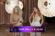 In this screengrab released on December 19th, Tori Kelly and JoJo speak during Global Citizen Prize Awards Special Honoring Changemakers In 2020 Shaping The World We Want on December 19, 2020 in New York City.