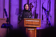 Ibtihaj Muhammad accepts the Legend Award onstage during Global Citizen Week: The Spirit Of A Movement at Riverside Church on September 22, 2018 in New York City.