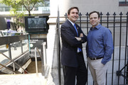 """New York Council Member Ben Kallos and Dr. Chris Mason attend """"Global City Sampling Day"""" To Launch Weill Cornell Medicine - Led Study Of Antimicrobial Resistance Across 54 International Cities on June 21, 2016 in New York City."""