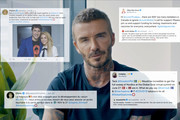 In this screengrab, David Beckham during the Global Goal: Unite For Our Future - Summit & Concert on June 27, 2020 in UNSPECIFIED, United States.