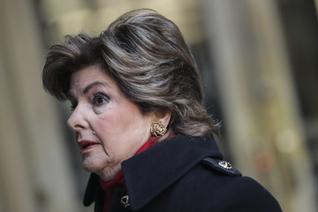 Gloria Allred Harvey Weinstein Appears In Criminal Court On Rape Charges