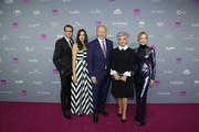 Kai Wiesinger, Bettina Zimmermann, Boris Becker, Birgit Schrowanger and Katja Flint attend the Gloria - Deutscher Kosmetikpreis at Hilton Hotel on March 30, 2019 in Duesseldorf, Germany.