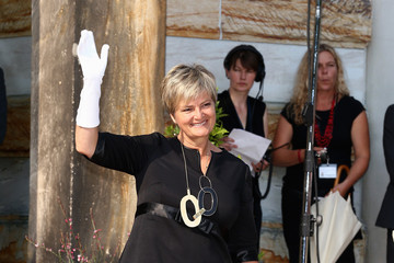Gloria Von Thurn Und Taxis Arrivals at the Bayreuth Festival Opening