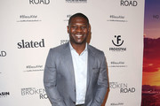 """LaDainian Tomlinson attends the """"God Bless The Broken Road"""" Premiere at Silver Screen Theater at the Pacific Design Center on September 5, 2018 in West Hollywood, California."""