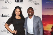 """Jordin Sparks and LaDainian Tomlinson attend the """"God Bless The Broken Road"""" Premiere at Silver Screen Theater at the Pacific Design Center on September 5, 2018 in West Hollywood, California."""