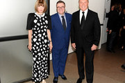 (L-R) Anna Wintour, Nathan Lane and Michael Kors attend God's Love We Deliver, Golden Heart Awards at Spring Studios on October 16, 2018 in New York City.