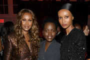 Iman, Lupita Nyong'o and Ugbad Abdi attend God's Love We Deliver, Golden Heart Awards on October 21, 2019 in New York City.