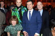Anna Wintour, Jordan Roth, Mayor Pete Buttigieg, and Richie Jackson attend God's Love We Deliver, Golden Heart Awards on October 21, 2019 in New York City.