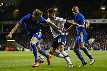 Gokhan Inler Tottenham Hotspur v Leicester City - The Emirates FA Cup Third Round