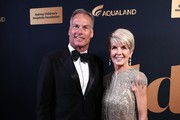David Panton and Julie Bishop attend the annual Gold Dinner at Fox Studios on May 30, 2019 in Sydney, Australia.