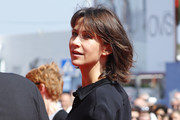 Sophie Marceau attends the Golden Lion For Jean Paul Belmondo followed by the 'Le Voleur' Premiere during the 73rd Venice Film Festival at Sala Grande on September 8, 2016 in Venice, Italy.