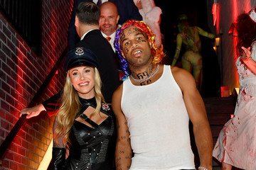 Golden Tate Heidi Klum's 20th Annual Halloween Party - Inside