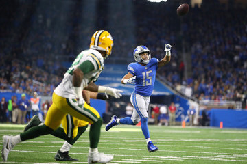 Golden Tate Green Bay Packers v Detroit Lions