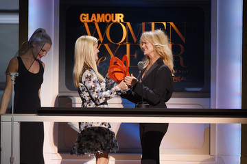 Goldie Hawn 2015 Glamour Women of the Year Awards - Show