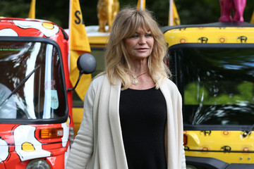 Goldie Hawn Goldie Hawn Launches 'Travels to My Elephant' a Conservation Campaign