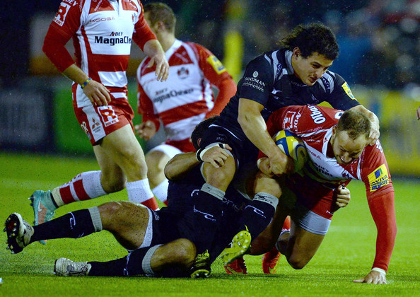 Newcastle Falcons v Gloucester Rugby
