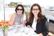 Founder of Violet Grey Cassandra Grey and president and CEO of Full Picture Desiree Gruber attend the Google Made With Code x CODEGIRL Lunch At NeueHouse LA on November 3, 2015 in Los Angeles, California.