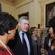 Baroness Scotland of Asthal Gordon Brown Hosts A Reception In Aid Of Women's Day