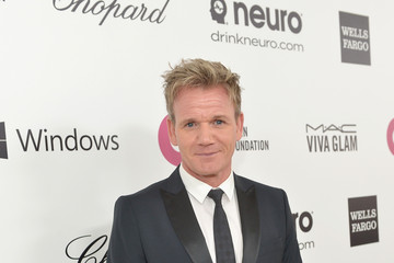 Gordon Ramsay Elton John AIDS Foundation Oscar Viewing Party — Part 3