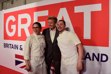 Gordon Ramsay The Film Is GREAT Reception - Red Carpet