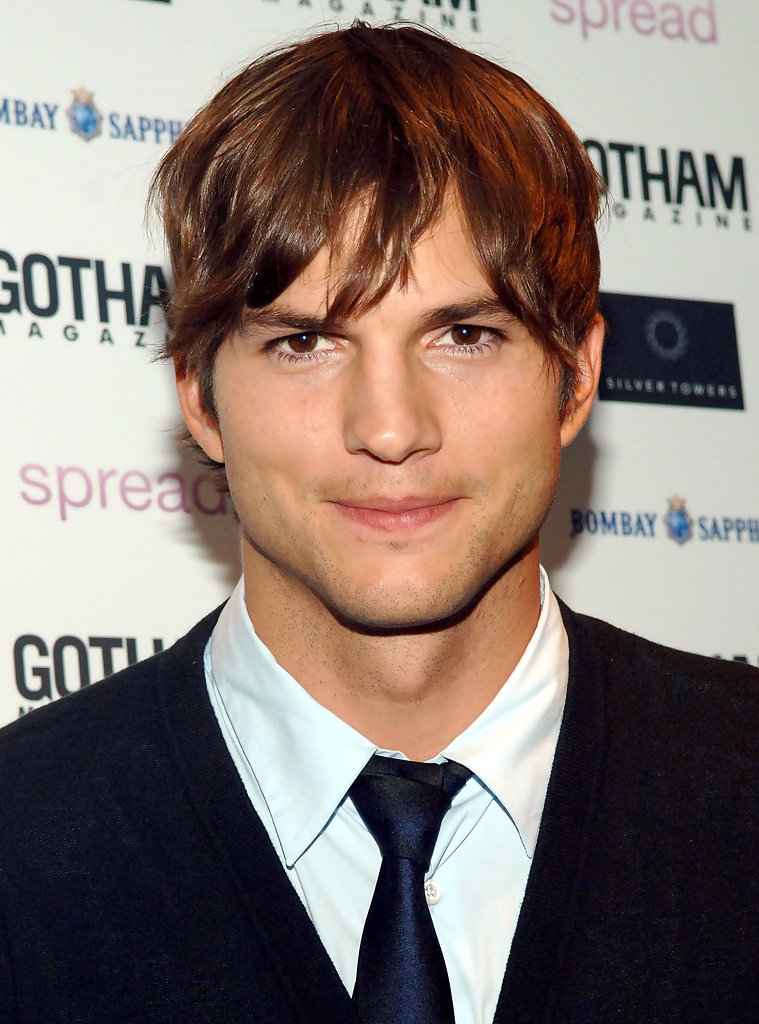 Ashton Kutcher in Goth...