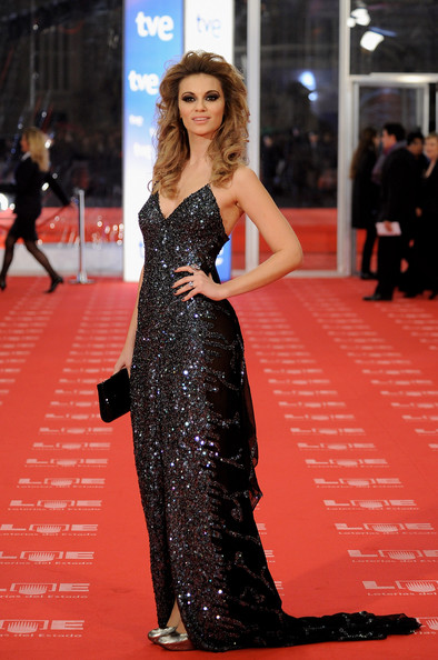 "Spanish actress Norma Ruiz arrives to the 2011 edition of the ""Goya Cinema Awards"" ceremony at Teatro Real on February 13, 2011 in Madrid, Spain."