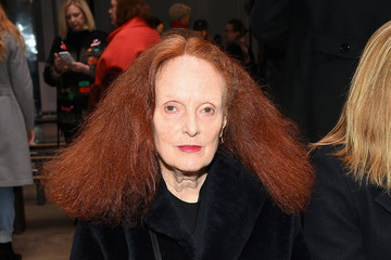 Grace Coddington Carolina Herrera - Front Row - February 2017 - New York Fashion Week