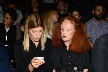 Grace Coddington Proenza Schouler - Front Row - Mercedes-Benz Fashion Week Spring 2015