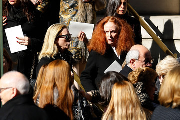 Grace Coddington Funeral Held for Oscar De La Renta