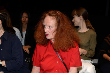 Grace Coddington Narciso Rodriguez - Front Row - Mercedes-Benz Fashion Week Spring 2015