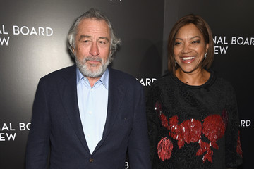 Grace Hightower Celebs Attend the 2015 National Board of Review Gala