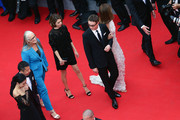 "Jury members  Do-yeon Jeon, Zhangke Jia, Jane Campion,  Sofia Coppola, Nicolas Winding Refn and Carole Bouquet attend the Opening ceremony and the ""Grace of Monaco"" Premiere during the 67th Annual Cannes Film Festival on May 14, 2014 in Cannes, France."
