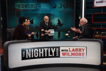 Grace Parra 'The Nightly Show with Larry Wilmore' Welcomes Senator Bernie Sanders as Guest