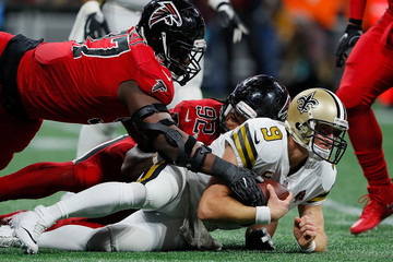 Grady Jarrett New Orleans Saints v Atlanta Falcons