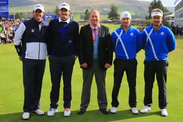 Graeme McDowell Victor Dubuisson Afternoon Foursomes